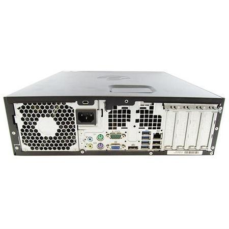 HP 8300 Form Factor Desktop Intel Core Quad-Core, 500GB SATA, Windows Pro 64-Bit, USB 3.0, Port