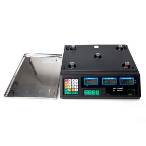 88lb Digital Postal Scale Electronic Counting