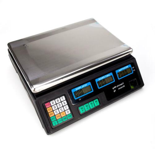 88lb Digital Scale Produce Counting
