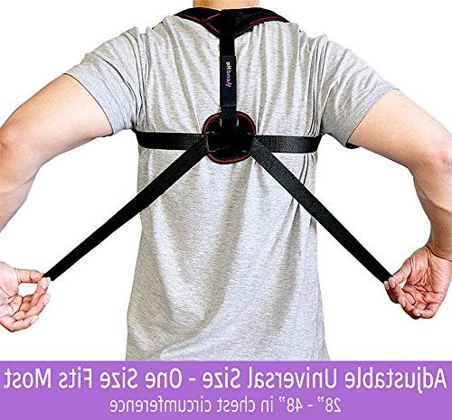 Back Posture for & - Support, Posture Pain Relief, Best 8 Clavicle Brace for Perfect