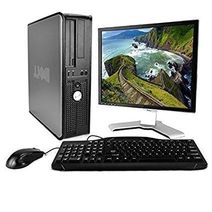 DELL Optiplex Desktop with 22in LCD Monitor , Black