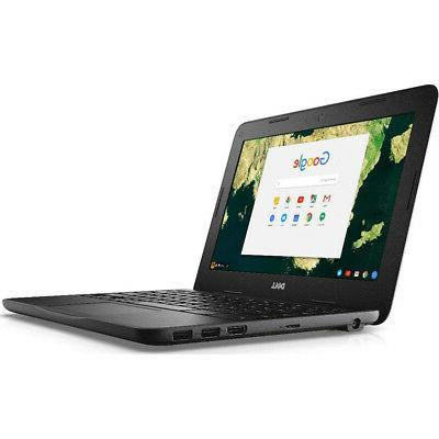 """Dell Chromebook 11 3180 11.6"""" Traditional Laptop in Black -"""
