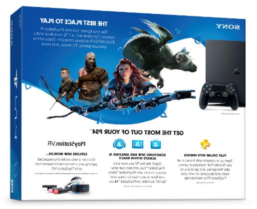 Sony Computer PS4 1TB 4 NEW