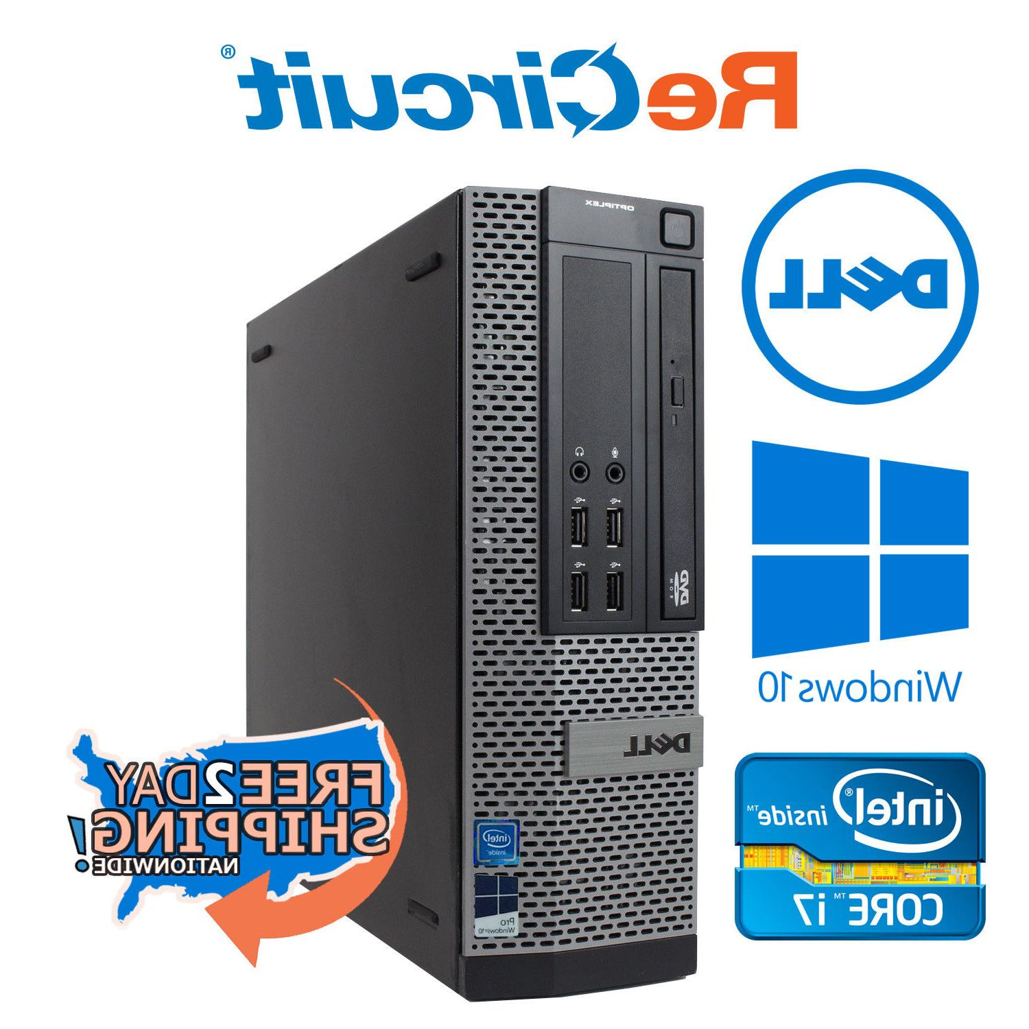 dell 990 desktop computer i7 3 8ghz