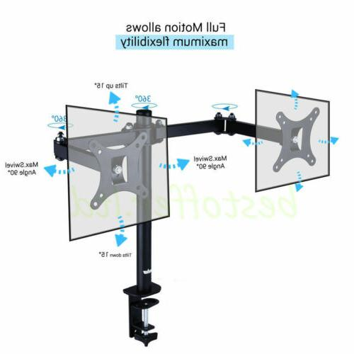 Dual Stand Mount Double For 13 LCD