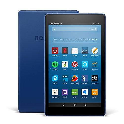 """Amazon Fire HD 8 Tablet E-Reader with Alexa, 8"""" HD Display,"""
