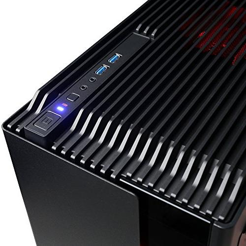 CYBERPOWERPC Gaming PC Desktop Black