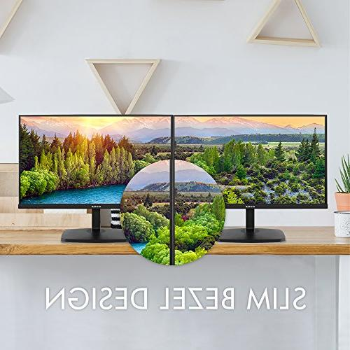 VIOTEK H270 Ultra Thin Computer with Frameless LED Display 1920 1080p 60Hz and 5ms HDMI