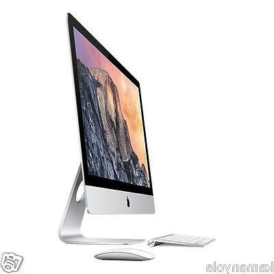 Apple iMac MK472LL/A All-in-One Computer - Intel i5 GHz 8 GB - 2880 - X 10.11 El - Desktop - Radeon R9 M390 2 - Bluetooth - 4 Total