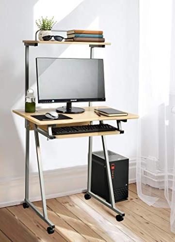 Aingoo Computer Desk Small with and Keyboard