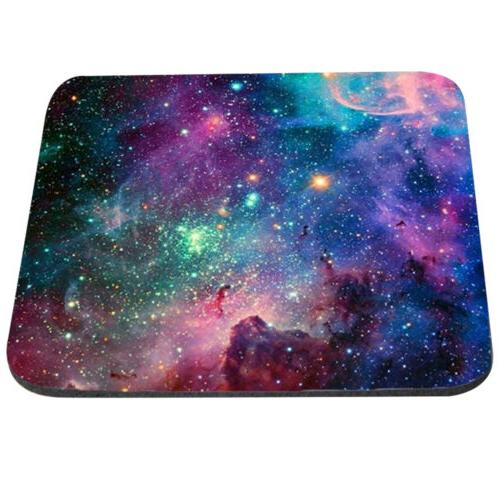 Non Slip Galaxy Mouse Pad Mat For Computer 1PC