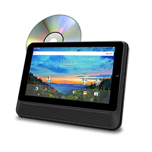 touchscreen tablet dvd combo featuring