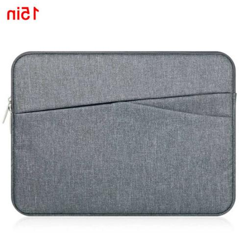 """Universal 15"""" Sleeve Bag Notebook Pouch Computer Protective"""