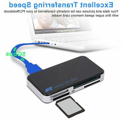 USB All in 1 Card CF Micro SD MS 5Gbps