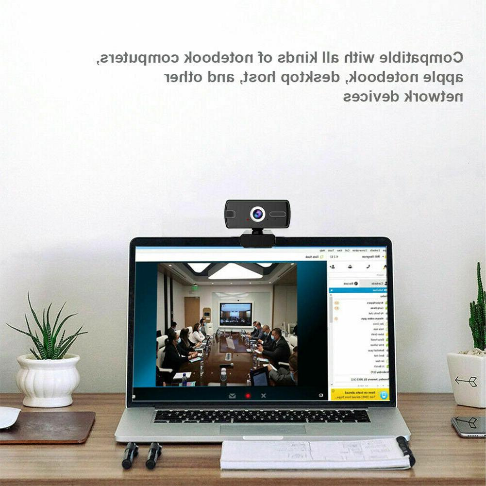 USB Camera 1080P 360° Webcam with for Calling