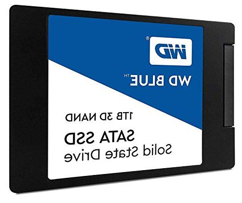 "WD Blue 3D NAND 1TB PC SSD - SATA III 6 Gb/s, 2.5""/7mm - WDS"