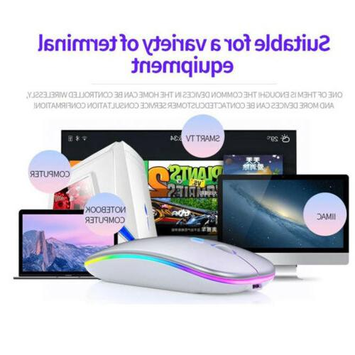 Wireless Rechargeable Mice