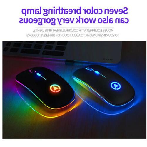 Wireless Mouse Rechargeable Silent Mouse