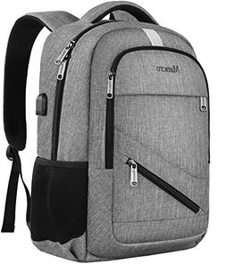 Business Laptop Backpack,Mancro Slim Backpack with USB Charg