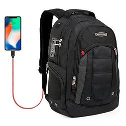 Cross Gear Backpack with USB Charging Port Laptop bag and Co