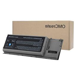 OMCreate Laptop Battery for Dell Latitude D630 D620, fits P/