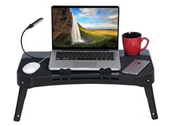 DG SPORTS Laptop Table Stand - 2-Sided Design Allows You to