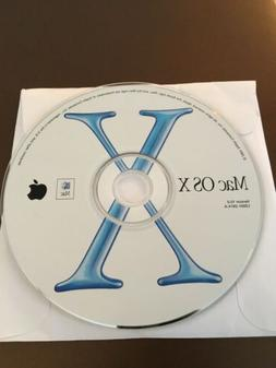 Mac OS 10.0 Operating System Software For Apple Macintosh Co