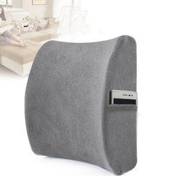 Memory Foam Lumbar Support Back Cushion for Lower Back Pain