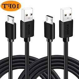 10 Ft Micro USB Power Cable for Fire TV Intel Computer, Roku