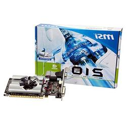 MSI N210-MD1G/D3 GeForce 210 Graphic Card - 589 MHz Core - 1