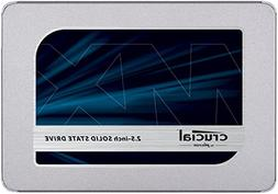 "Crucial MX500 2.5"" 1TB SATA III 3D NAND Internal Solid State"