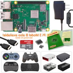 NEW LOW PRICES! Raspberry Pi 3 Model B+  Kits / KODI, RetroP