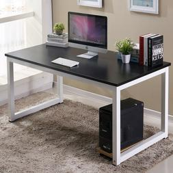 New Wood Computer Table Study Desk Office Furniture PC Lapto