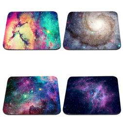 Non Slip Galaxy Mouse Pad Mice Mat Mousepad For Laptop Noteb