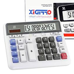 OFFIDIX Office Computer Key Electronic Calculator, Financial