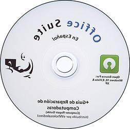 Office Suite CD en Spanish Espanol - Compatible with Microso