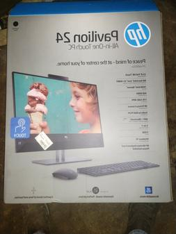 hp pavilion 24 inch all in one touchscreen desktop computer