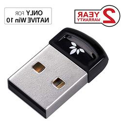 Avantree DG40SA Plug & Play Bluetooth 4.0 USB Dongle Adapter