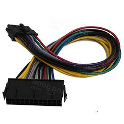 24Pin to 14Pin Power Supply Cable Cord For Q77 B75 A75 Q75 -