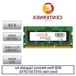 8GB RAM Memory for Sony Vaio SVS13A12FXS  Laptop Memory Upgr