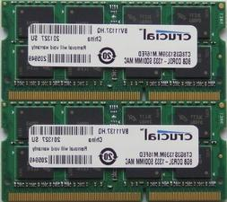 Ram memory upgrades 16GB kit  DDR3 PC3 10600 1333Mhz for lat