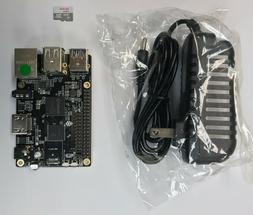 ROCK64 Single Board Computer Kit includes MicroSD and Power