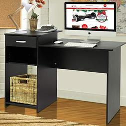Best Choice Products Wood Computer Desk Workstation Table fo