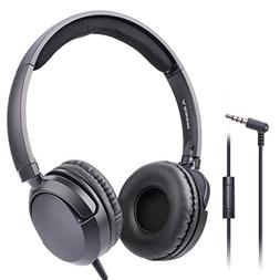 Avantree Superb Sound Wired On Ear Headphones with Microphon