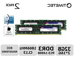 Timetec Supermicro Apple 32GB Kit  DDR3 1866MHz PC3-14900 Re