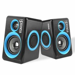 Surround Computer Speakers USB Wired Powered Multimedia Spea