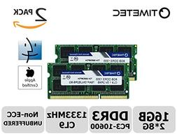 Timetec Hynix IC Apple 16GB Kit  DDR3 1333MHz PC3-10600 SODI