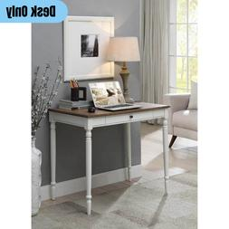 Traditional 1-Drawer Writing Desk Wooden Home Office Compute