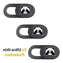 PandaPrivacy Universal Webcam Cover for Laptop, iPhone, iPad