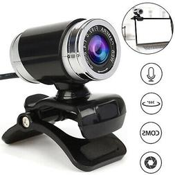 HD 12 Megapixels USB 2.0 Webcam Camera with MIC Clip-on for